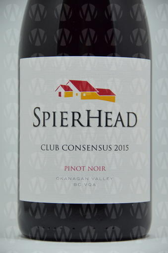 SpearHead Winery Pinot Noir Club Consensus