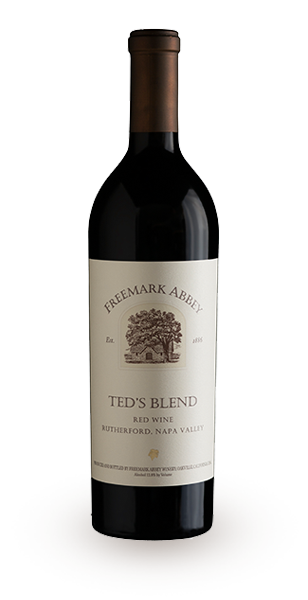 """""""Ted's Blend"""" Red Wine Bottle"""