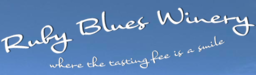 Ruby Blues Winery Logo