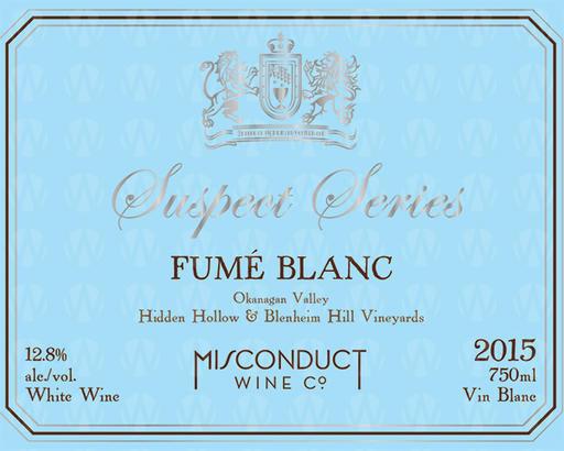 Misconduct Wine Co. Suspect Series Fumé Blanc