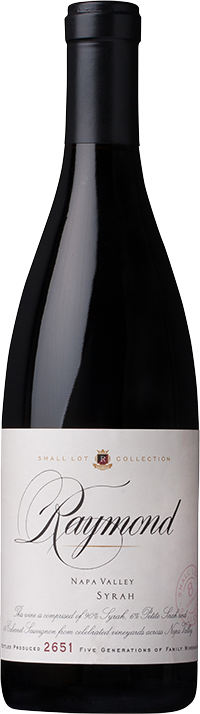 Raymond Vineyards Small Lot Collection Napa Valley Syrah Bottle Preview