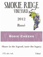 Smokie Ridge Vineyard Rosie Cheeks - Rosé