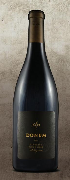 Donum Estate 1870 Carneros Estate Pinot Noir Bottle Preview
