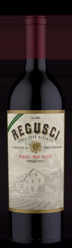 Regusci Winery Merlot Bottle Preview