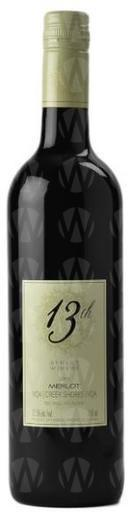 13th Street Winery Merlot