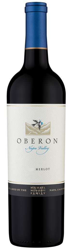 Oberon Wines Merlot, Napa County Bottle Preview