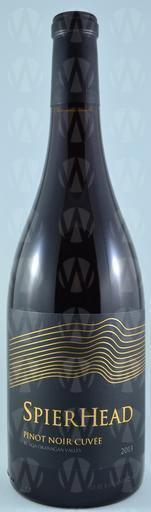 SpearHead Winery Pinot Noir Cuvee