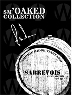 Smokie Ridge Vineyard sm'Oaked Collection Sabrevois