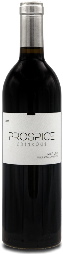 Prospice Wines Walla Walla Valley Merlot Bottle Preview