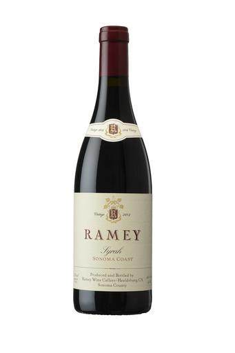 Ramey Wine Cellars Syrah, Sonoma Coast Bottle Preview