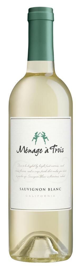 Ménage à Trois Wines Ménage à Trois Sauvignon Blanc Bottle Preview