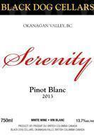 Black Dog Cellars Serenity Pinot Blanc