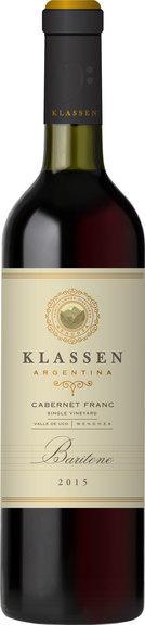 Klassen Wines Baritone Bottle Preview