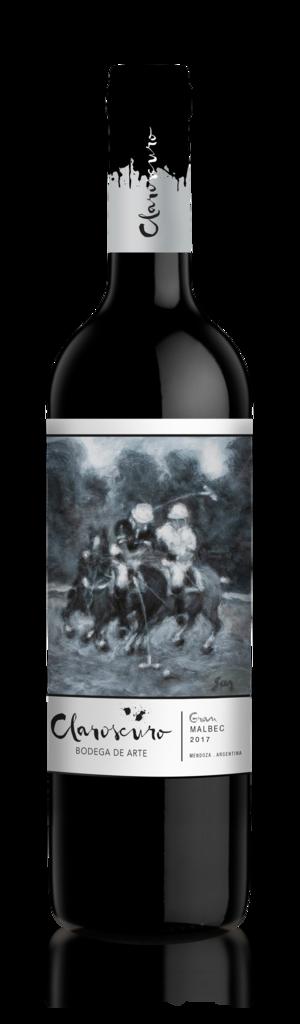 Claroscuro Gran Malbec Bottle