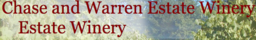 Chase & Warren Estate Winery Logo