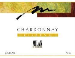 Milan Wineries Chardonnay Riserva