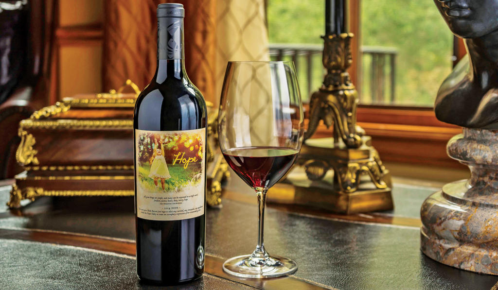 """Fantesca Estate & Winery All Great Things™ """"Hope"""" Red Blend Bottle Preview"""