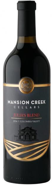Mansion Creek Cellars Julia's Blend Bottle Preview
