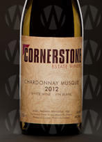 Cornerstone Estate Winery Chardonnay Musque