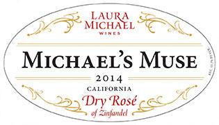 Laura Michael Wines Michael's Muse Dry Rosè of Zinfandel Bottle Preview