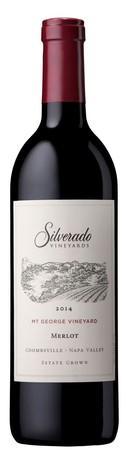 Silverado Vineyards Mt. George Merlot Bottle Preview
