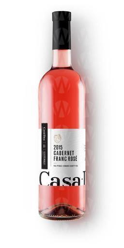 Casa-Dea Estates Winery Cabernet Franc Rosé