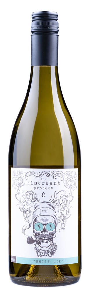 TruthTeller Winery The Miscreant Project White Lie Bottle Preview