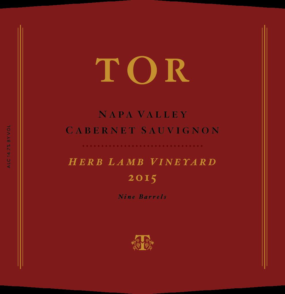 TOR Wines Herb Lamb Vuneyard Cabernet Sauvignon Bottle Preview