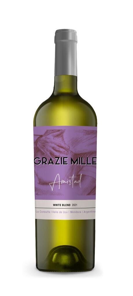 Grazie Mille - Design Wines Linea Amistad - White Blend Bottle Preview