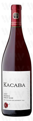 Kacaba Vineyards and Winery Reserve Pinot Noir