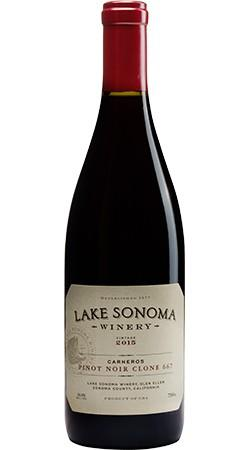 Lake Sonoma Winery Lake Sonoma Winery Pinot Noir Clone 667 Bottle Preview