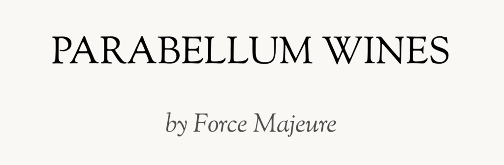 Parabellum Wines by Force Majeure Logo