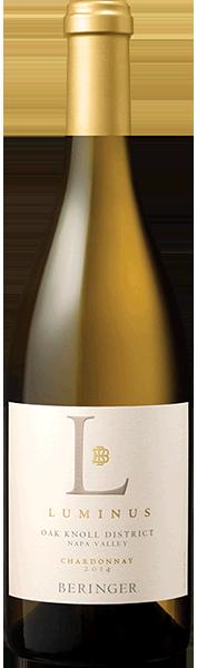 Beringer Luminus Chardonnay Oak Knoll Bottle