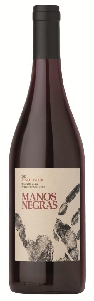Manos Negras Pinot Noir Bottle Preview