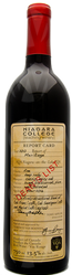 Niagara College Teaching Winery Dean's List Meritage