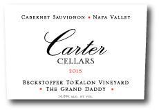 Carter Cellars Beckstoffer To Kalon 'The Grand Daddy' Cabernet Sauvignon Bottle Preview