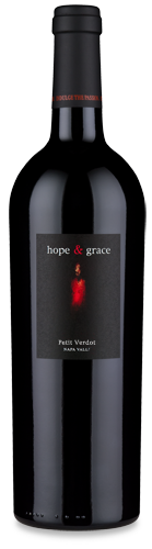 hope & grace Winery hope & grace Petit Verdot Yountville | Napa Valley Bottle Preview