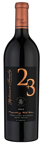 Robinson Family Vineyards 2 + 3 Proprietary Red Wine Bottle Preview