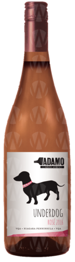 Adamo Estate Winery Underdog Rosé