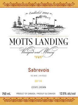 Motts Landing Estate Winery Sabrevois