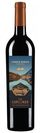 Canoe Ridge Vineyard The Explorer Red Blend Bottle Preview