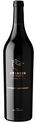 Swanson Vineyards Salon Cabernet Sauvignon Bottle Preview