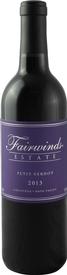 Fairwinds Estate Winery Petit Verdot Bottle Preview