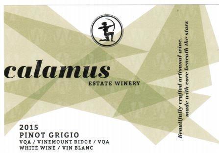Calamus Estate Winery Pinot Grigio