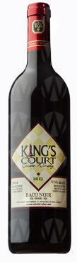 King's Court Estate Winery Baco Noir