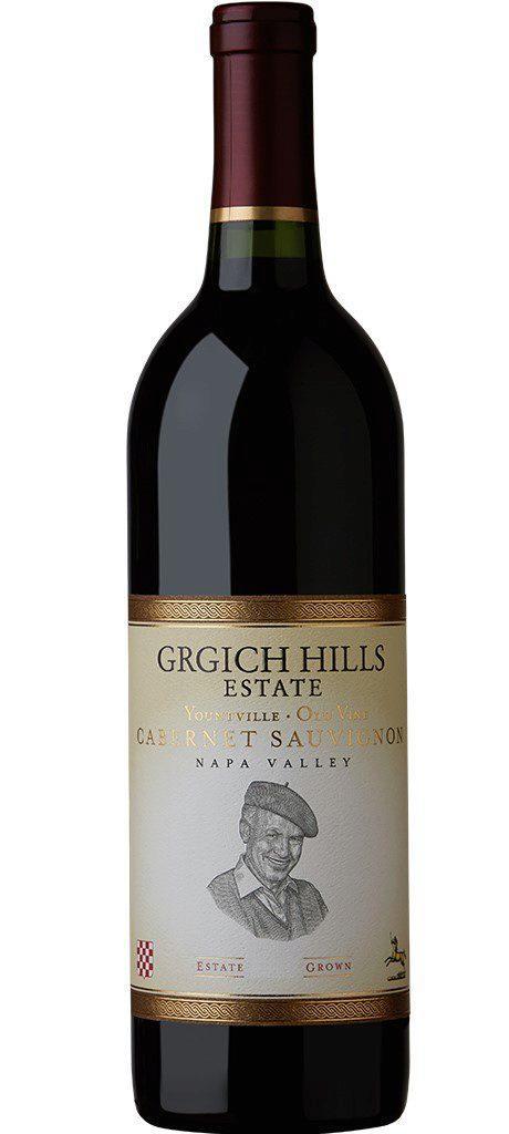 Grgich Hills Estate Yountville Old Vine Cabernet Sauvignon Bottle Preview