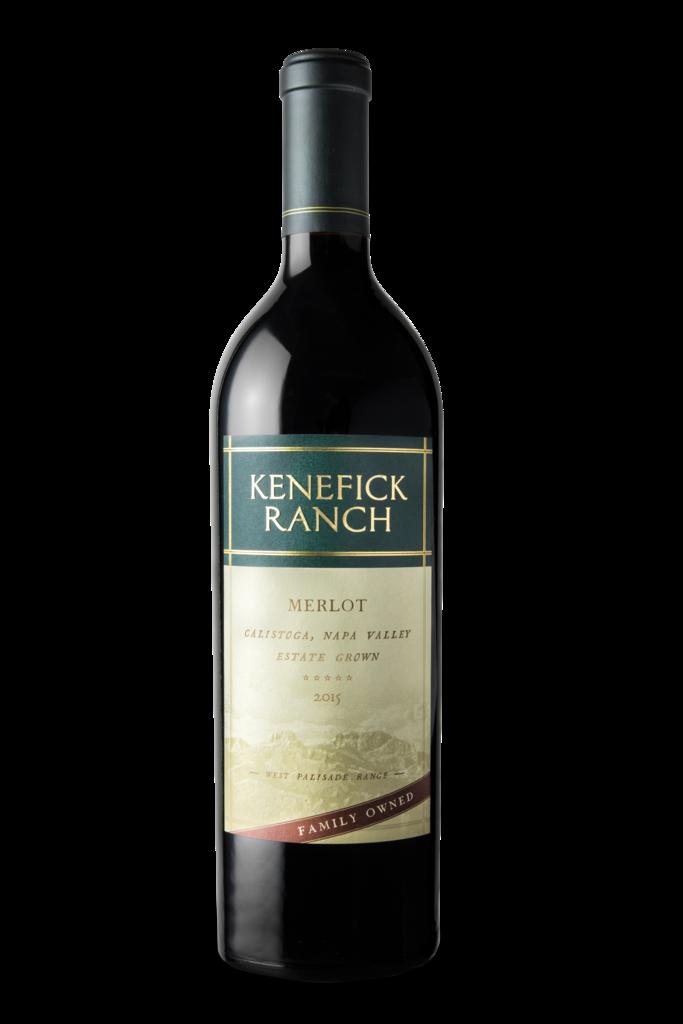 Kenefick Ranch Winery Merlot Bottle Preview