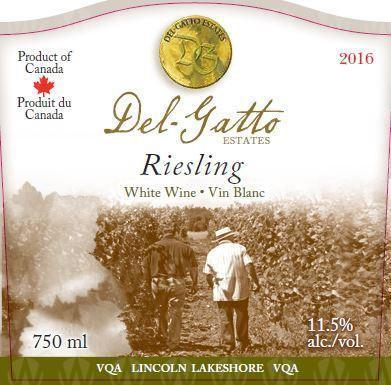 Del-Gatto Estates Riesling