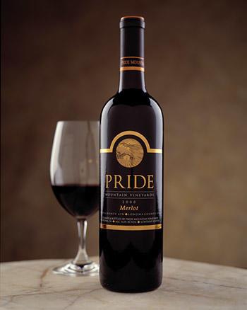 Pride Mountain Vineyards Pride Merlot Bottle Preview