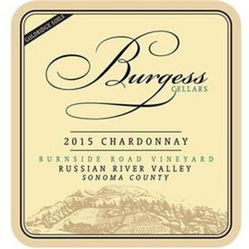 Burgess Cellars Chardonnay Bottle Preview